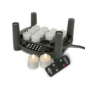 Rechargeable Candle Set 2.0 Timer - Starter Kit - Warm White Tealights