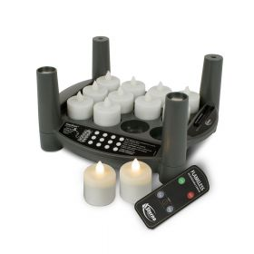 Rechargeable Candle Set 2.0 Timer - Warm White Tealights